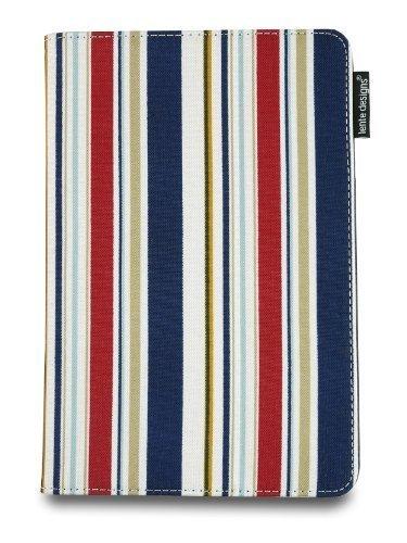 & da uomo, per iPad Mini 1 2 3 e & cover-Custodia con funzione supporto e on/off integrate che offrono protezione completa con motivo floreale, stripes & abstract designs, Monaco)