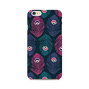 Rayite Peacock Fethers Premium Printed Case For Apple iPhone 6/6s