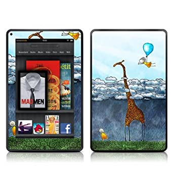 Kindle Fire Skin Kit/Decal - Above the Clouds - Vlad Studio (does not fit Kindle Fire HD)