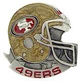 NFL San Francisco 49ers Helmet Pin 1″