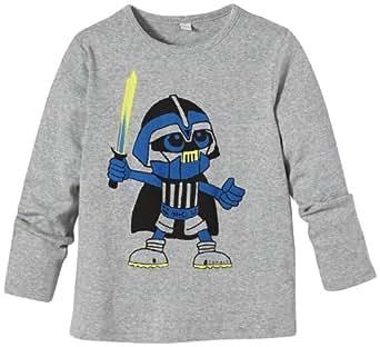 ESPRIT 113EE8K005 Printed Boy's T-Shirt Stone Grey Melange 2-3 Years