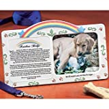 Memorial Sympathy Rainbow Bridge Pet Picture Frame