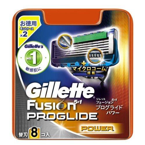 ジレット プログライドパワー 替刃 8個