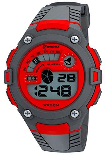 Watch mens ladies watch boys girls sports watch brand unisex fashion stopwatch digital waterproof sports watch week reminder