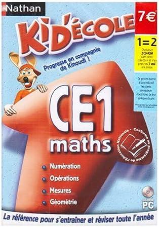 Kid'Ecole Maths CE1