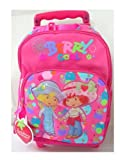 Berry Cool Strawberry Shortcake Kids Size Rolling Backpack