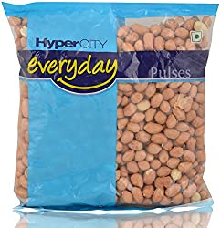 Hypercity Everyday Dry Fruits and Nuts - Peanuts Raw, 500g Pack