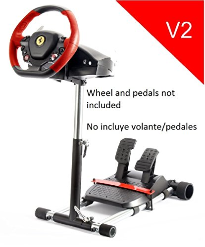 Racing Steering Wheelstand for Original Thrustmaster F458 (Xbox 360 Version), F458 Spider (Xbox One), T80, T100, RGT, Ferrari GT and F430; Original Wheel Stand Pro V2 Stand: Wheel/Pedals Not included (Xbox One Ferrari Steering Wheel compare prices)