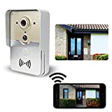 FREDI® Smart Home Wireless WiFi Remote Video Door Phone Intercom Doorbell Camera HD 720P Support P2P Alarm IR Night Vision iPhone Android Phone and PC