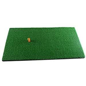 "Truedays® Golf Mat 12""x24"" Residential Practice Hitting Mat Rubber Tee Holder"