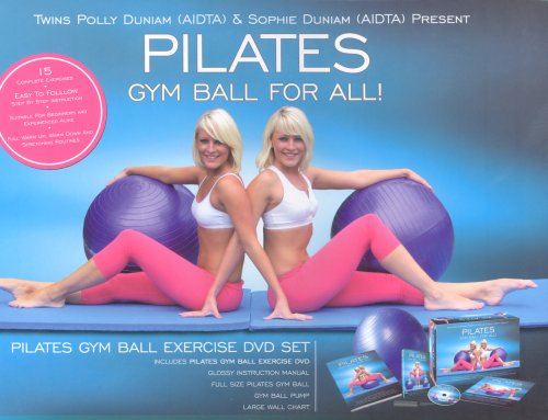 Pilates Gym Ball Exercise DVD Set