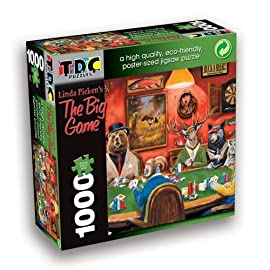 TDC Games Eco Friendly Puzzle - The Big Game