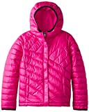 Columbia Girl's Powder Lite Puffer Jacket - Groovy Pink, Medium