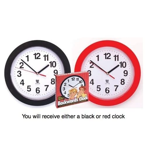 Left handed clocks and watches