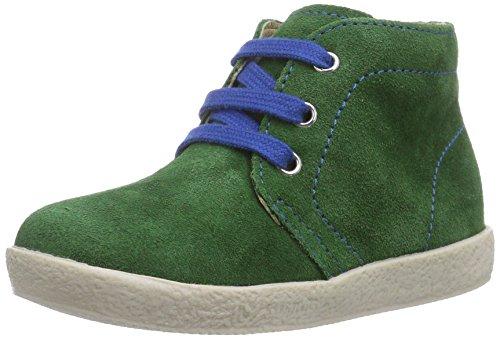 Naturino FALCOTTO 1195, Sneaker per neonati bambino, Multicolore (Mehrfarbig (VERDE CUC + LACCI AZZURRO)), 20