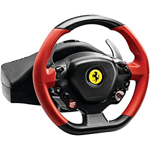 Thrustmaster VG Ferrari 458 Spider Racing Wheel - Xbox One from Thrustmaster VG