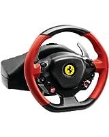 Thrustmaster - F458 Spider - Volant de Course pour Xbox One - Noir/Rouge