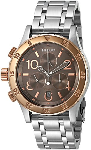 Nixon Damas 38-20 Chrono Analógico Deporte Cuarzo Reloj A4042215