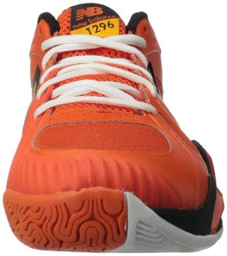 888098148954 - New Balance Men's MC1296 Stability Tennis Tennis Shoe,Orange/Black,11 2E US carousel main 3