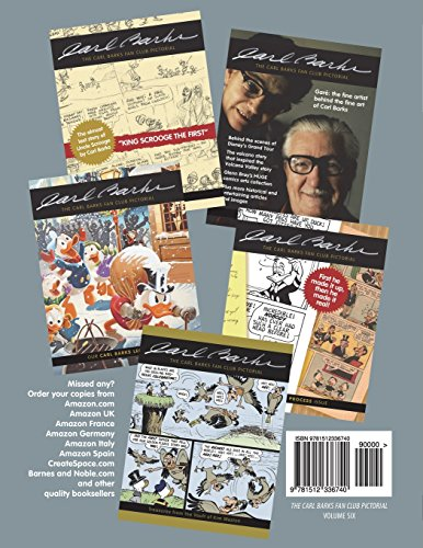 The Carl Barks Fan Club Pictorial: Our Parallel Duck Universe Issue: Volume 6