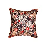 The Crazy Me Take Me Back Vintage Stamps Cushion Cover(16 By 16 Inch)
