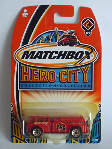 MATCHBOX 2003 (Mattel) HERO - CITY COLLECTION # 62 WATER PUMPER - 1