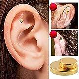 Quit Smoking Ear Magnet Cigarettes Magnetic Ear Acupressure Zero Stop Smoke (2 PCS) (Tamaño: 2 PCS)