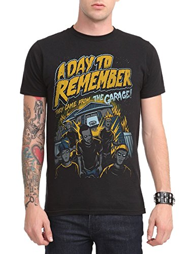 A Day To Remember From The Garage Slim-Fit T-Shirt Size : Medium