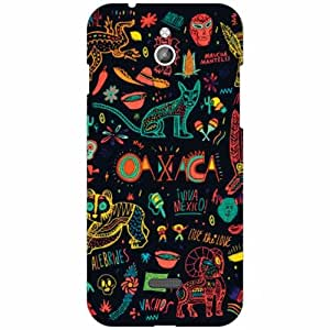 Infocus M2 Back Cover - Silicon Abstract Designer Cases
