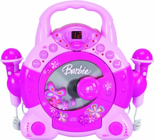 Barbie BAR504 Sing-A-Long Kid's Karoake, Pink (Fisher Cd Player 6 Disc compare prices)