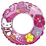 Intex  - Rueda flotador hinchable, diseño Hello Kitty, 61 cm (56210NP)