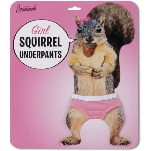 Accoutrements Girl Squirrel Underpants - 1