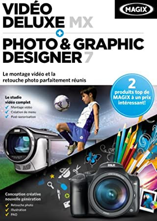 Magix Vidéo Deluxe MX + Photo & Graphic Designer 7