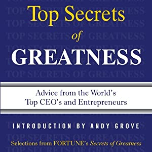 Secrets of Greatness | [Editors of Fortune Magazine]