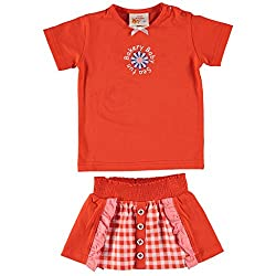 The Dutch Design Bakery Kid's Orange Color Skirt