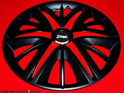 4 MAXIMUS-REDSTAR- RADKAPPEN schwarz-rot -14 ZOLL-NEU-TOP-SOMMERREIFEN von J-TEC-Design by Wheelcover4you auf Reifen Onlineshop
