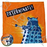 Doctor Who Compressed Towel / Flannel (Dalek)