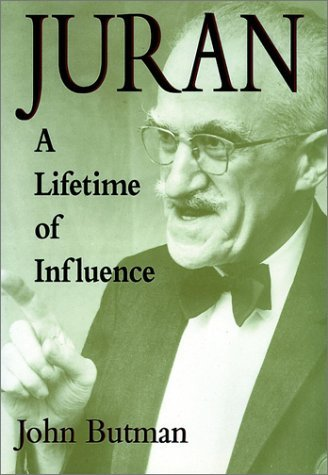 influences of juran trilogy Juran came up with a quality trilogy  influences from the juran trilogy has been implemented in the company's curriculum such as planning and improvement.