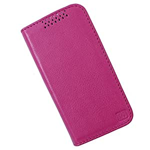 Dooda Genuine Leather Flip Case For Gionee Elife E7 (PINK)