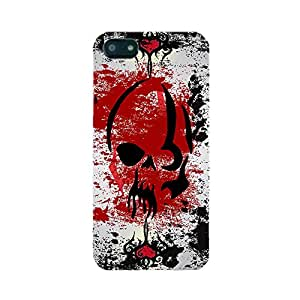 Skintice Designer Back Cover with designer 3D sublimation printing for Apple iPhone 4/4S