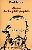 Misère de la philosophie