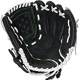 Worth Women's Shutout Fast Pitch Softball Glove, Right Hand, 12-Inch, Black, 12-Inch/Black