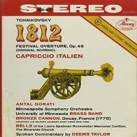 チャイコフスキー:1812年序曲Op.49,イタリア奇想曲Op.45Op.91