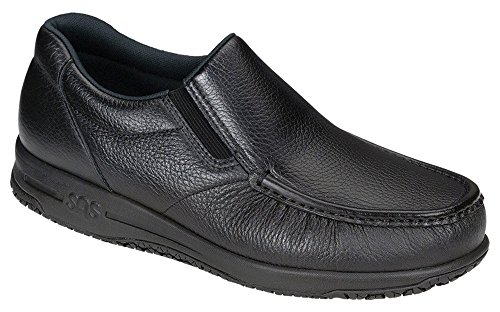 SAS Men's Navigator Slip Resistant - Black Size 10.5 W (Sas Shoes For Man compare prices)