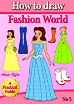 children book - how to draw models, women, and fashion world (that girls love) step by step (how to draw comics and cartoon characters)