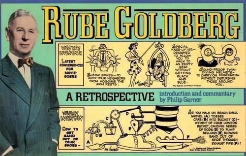 Rube Goldberg: A Retrospective, Goldberg, Rube