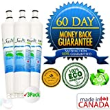 Whirlpool 4396510P Certified Green Refrigerator Water Filter 3 Pack