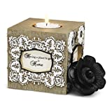 Modeles Blessings Square Tea Light Candle Holder By Pavilion Gift