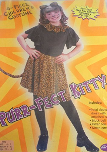 Purr-Fect Kitty Child Costume 12-14 NIP