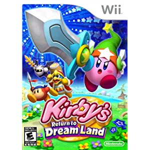 Kirby's Return to Dream Land Video Game for Nintendo Wii